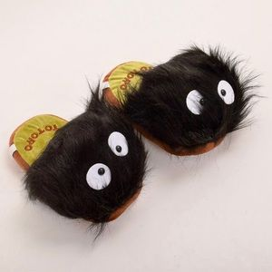 Shoes - Spirited Away/Totoro Soot Sprite Slippers
